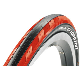 "Maxxis Detonator Tyre 28"" Dual, foldable, red/black"